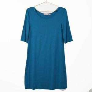 JUICY COUTURE Short Sleeve Cotton Shirt Dress M